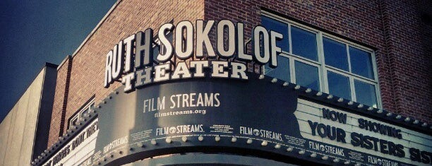 Film Streams' Ruth Sokolof Theater is one of Omaha Culture.