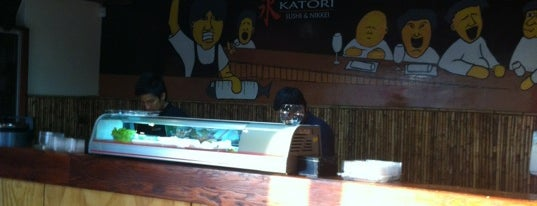 Katori Sushi is one of Restaurantes, Bares, Cafeterias y el Mundo Gourmet.