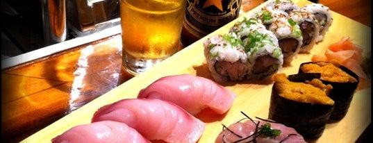Joss Cafe & Sushi Bar is one of Mike's Favorite Restaurants in DMV.