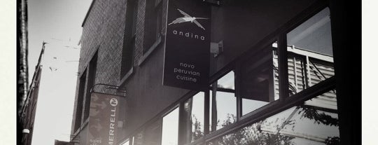 Andina is one of Vegan Portland.