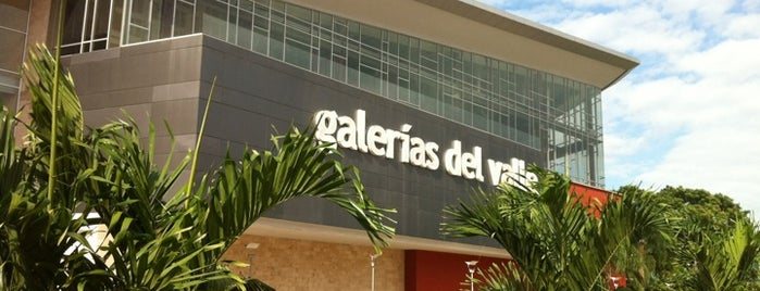 Mall Galerias del Valle is one of Lugares frecuentes.