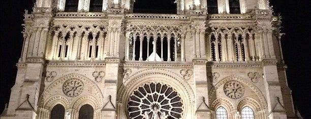 Cathédrale Notre-Dame de Paris is one of Paris City Badge - La Ville-Lumière.