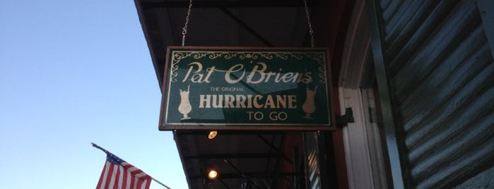 Pat O'Brien's is one of New Orleans City Badge - The Big Easy.