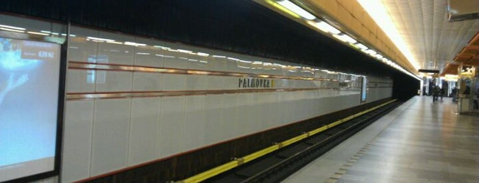 Metro =B= Palmovka is one of Metro B.