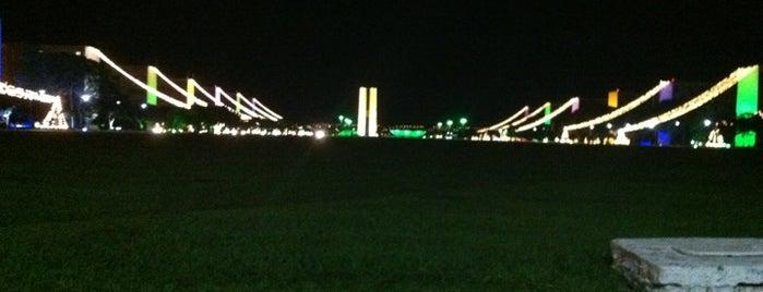 Esplanada dos Ministérios is one of Brasília.