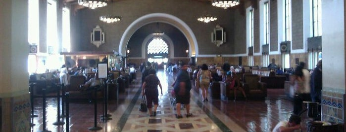 Union Station is one of Los Angeles Photo Walk (Downtown).
