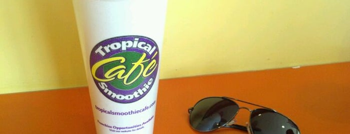 Tropical Smoothie Cafe is one of Découverte.