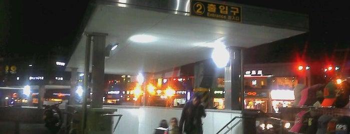 상왕십리역 (Sangwangsimni Stn.) is one of Subway Stations in Seoul(line1~4 & DX).