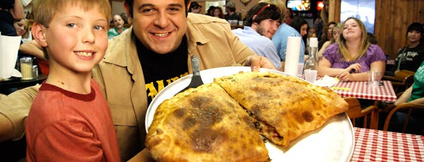 Trimbo's Pizza is one of Man v Food Nation.
