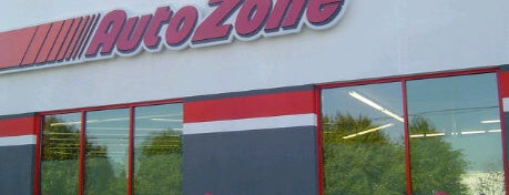 Auto Zone is one of My Places.