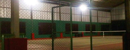 Tennis Indoor Yayasan Al Kautsar is one of Last visit 2012.