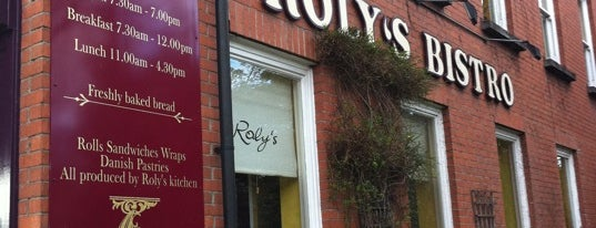 Roly's Bistro is one of Foodies.