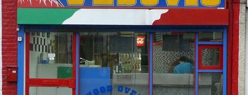 Vesuvio is one of Hackney Pizza, yeah!.