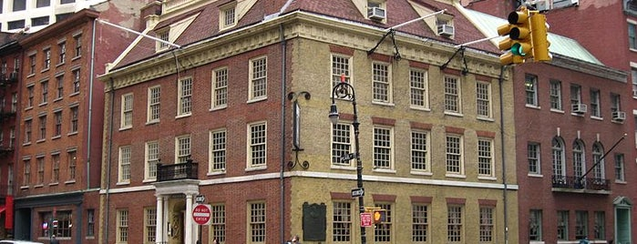 Fraunces Tavern Museum is one of NYC's Presidential Haunts.