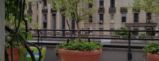 Sky Terrace at Hudson Hotel is one of ny2.