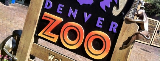 Denver Zoo is one of Flying High in Colorado.