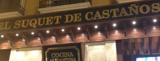 El Suquet de Castaños is one of los mejores sitios para comer en Alicante.