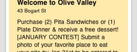 Olive Valley is one of Lunch.