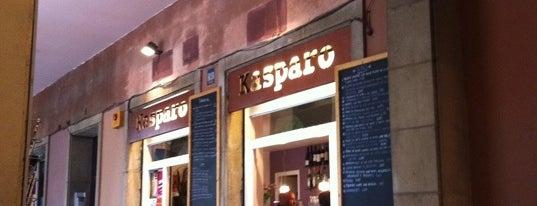Kasparo is one of Sandwich, hamburguesas y otras cosas rápidas.