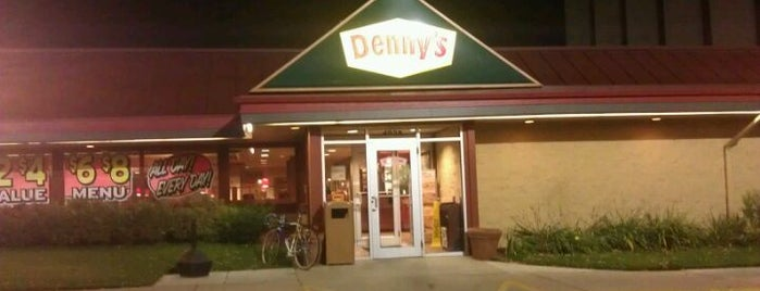 Denny's is one of Restaurants.