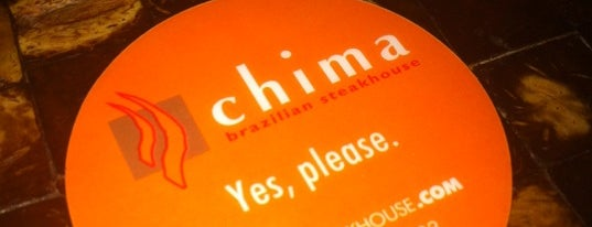 Chima Brazilian Steakhouse is one of 20 favorite restaurants.