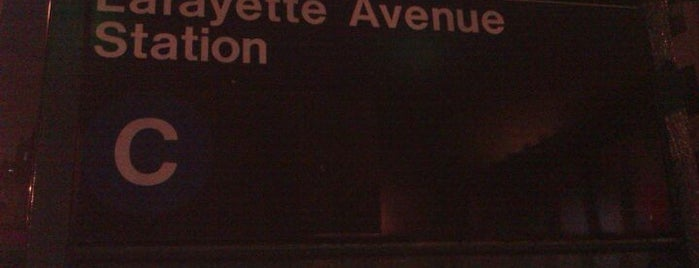 MTA Subway - Lafayette Ave (A/C) is one of Clinton Hill.