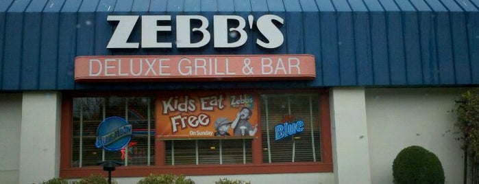 Zebb's Deluxe Grill & Bar is one of Roc.