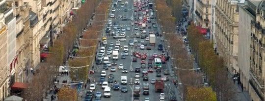 Avenue des Champs-Élysées is one of Paris Attractions.