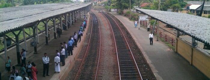 Moratuwa Railway Station is one of Railway Stations In Sri Lanka.