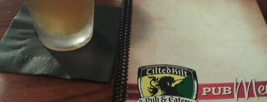 Tilted Kilt Pub & Eatery is one of Bars in Louisville to watch NFL SUNDAY TICKET™.