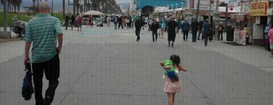 Venice Beach Boardwalk is one of Must Visit - LA.