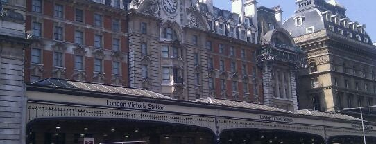 London Victoria Railway Station (VIC) is one of Train stations.