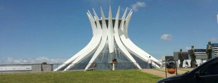 Catedral Metropolitana de Brasília is one of Brasília.