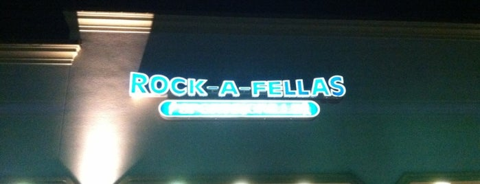 Rock-a-Fellas Sports Grille is one of Watering Holes.