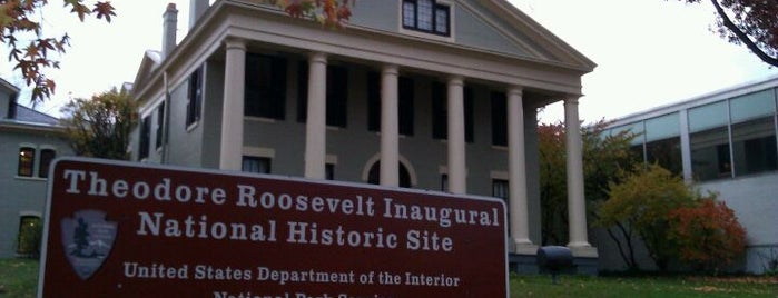 Theodore Roosevelt Inaugural National Historic Site is one of Our Buffalo Trip.