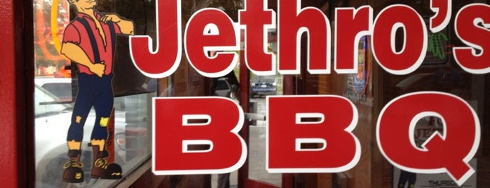 Jethro's BBQ is one of des moines.