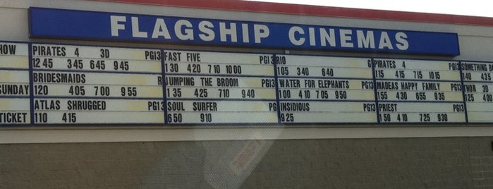 Flagship Cinemas New Bedford is one of Take in a Show.
