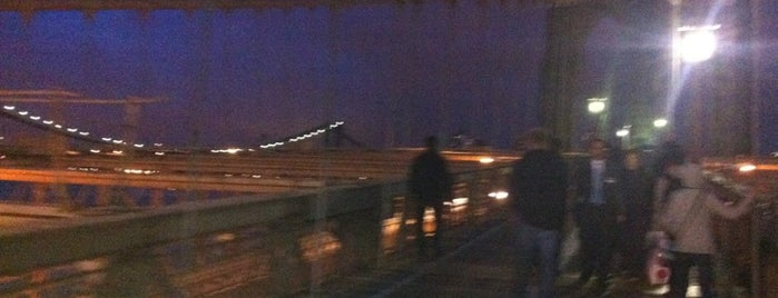 Brooklyn Bridge is one of Famous ones..