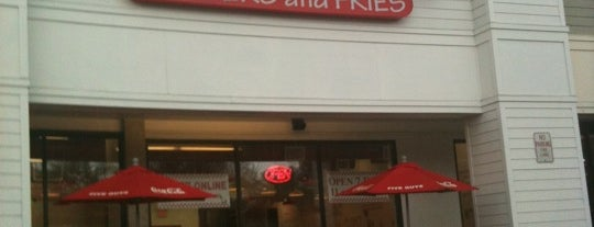 Five Guys is one of Natick Eats.