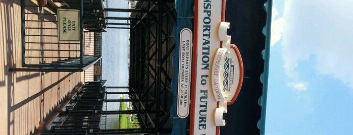 Friendship Boat Dock - World Showcase Plaza West is one of Epcot World Showcase.
