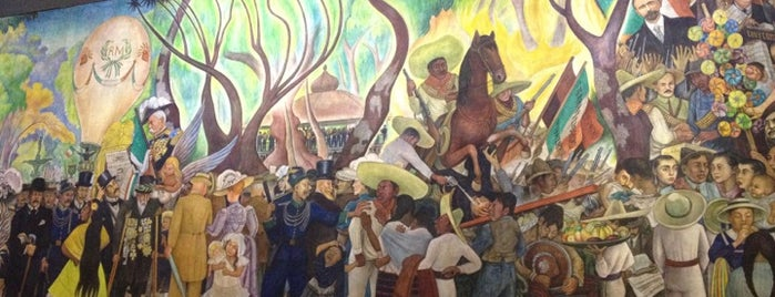 Museo Mural de Diego Rivera is one of Editor's Choice.