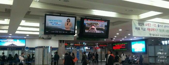 영등포역 (Yeongdeungpo Stn.) is one of Subway Stations in Seoul(line1~4 & DX).