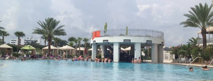 Hard Rock Hotel Pool is one of Southern Blues Trail: OMA Style.