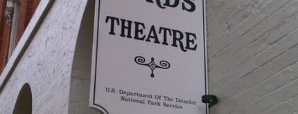 Ford's Theatre is one of Must see in Washington DC.