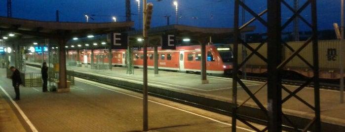 Weimar Hauptbahnhof is one of Bahnhöfe DB.