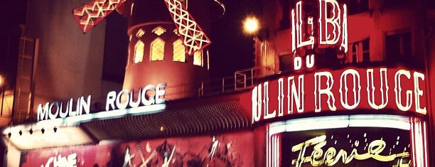 Moulin Rouge is one of World Sites.
