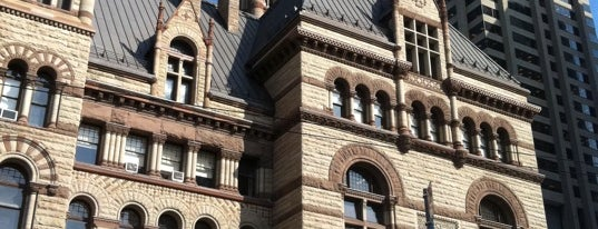 Old City Hall is one of Toronto City Guide #4sqCities.