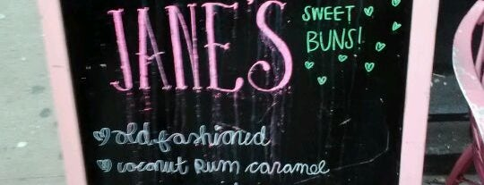 Jane's Sweet Buns is one of NYC Bucket List.