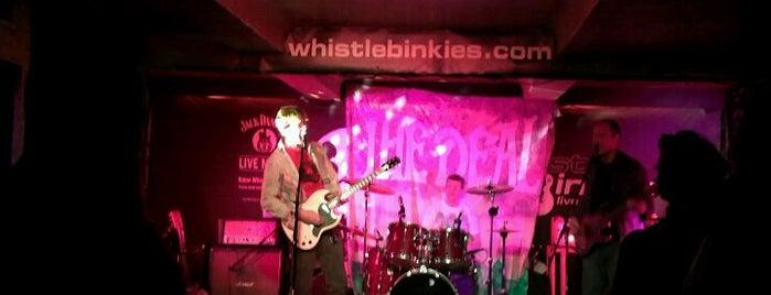 Whistle Binkies is one of Edinburgh.