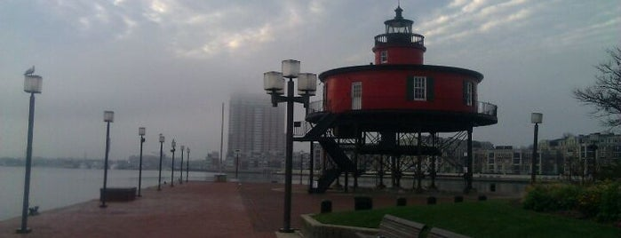 Seven Foot Knoll Lighthouse is one of Andy's Guide to Baltimore.